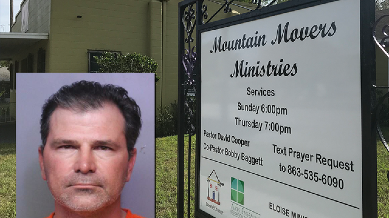 Local pastor accused of having sex with child