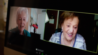 Friends separated in Holocaust reunited