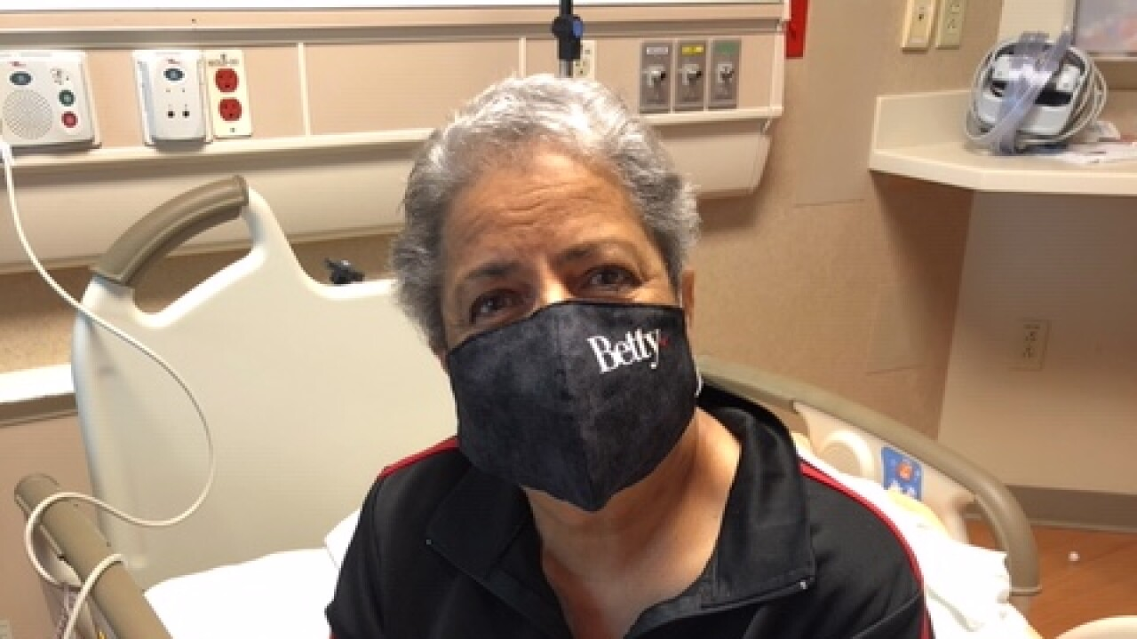 73-year-old COVID-19 survivor shares her story