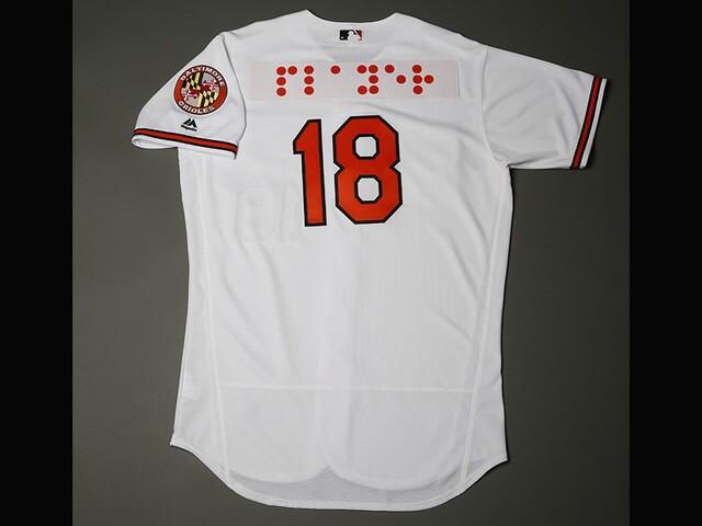 best website 2c900 4f2ce Orioles to wear Braille jerseys Sept. 18 for National ...
