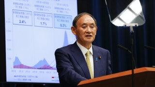 Yoshihide Suga Japan PM