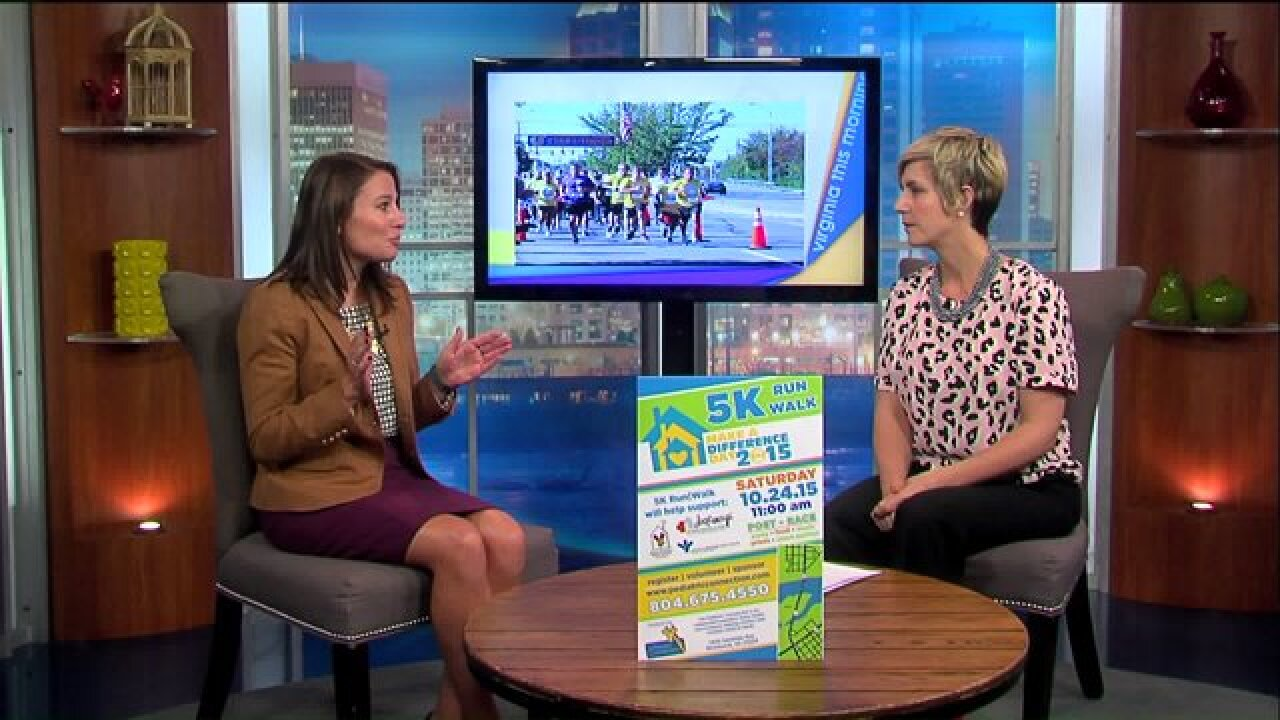 Join The Pediatric Connection for the 'Make A Difference Day 2015' 5K