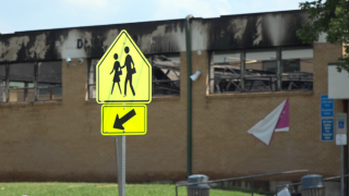 G.W. Carver Middle School fire