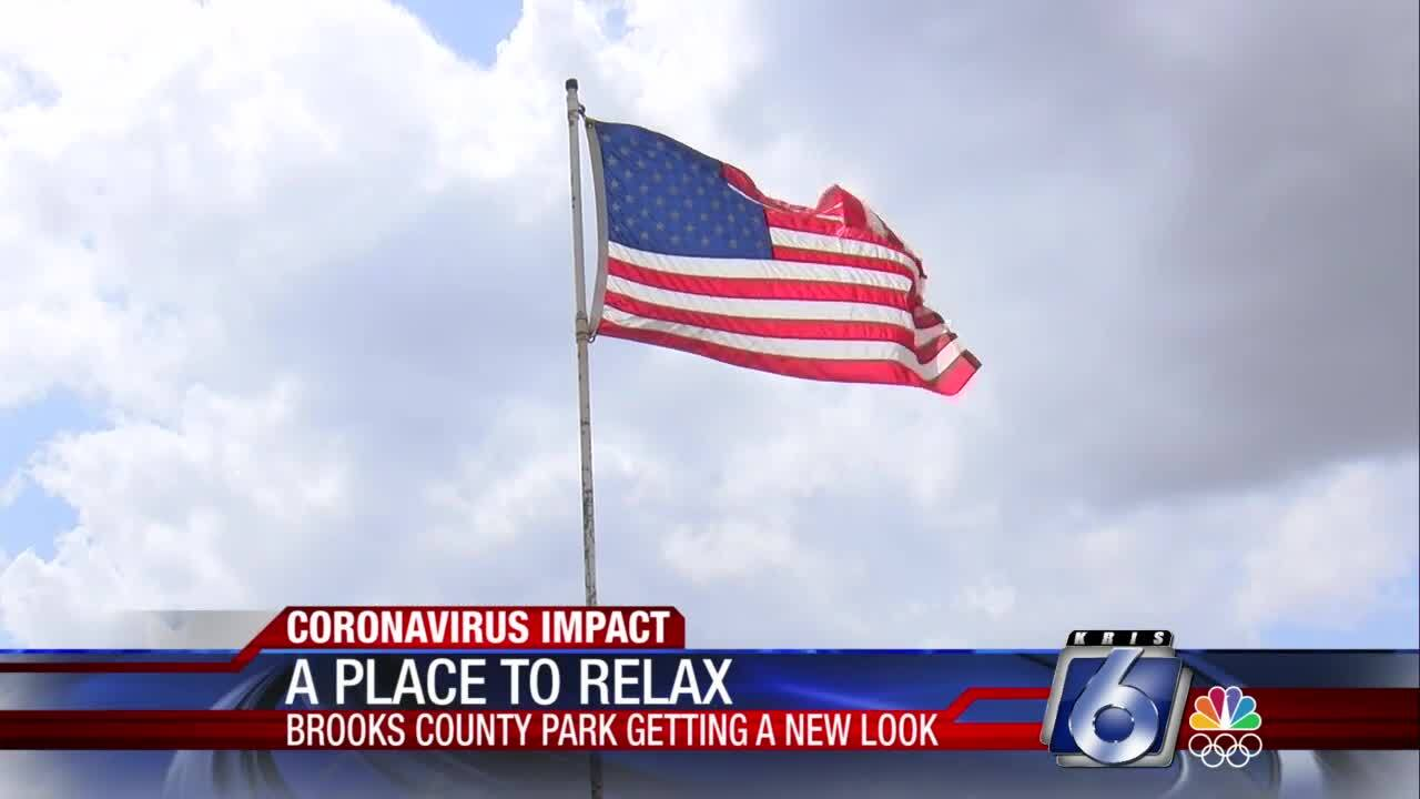 Flag in Brooks County