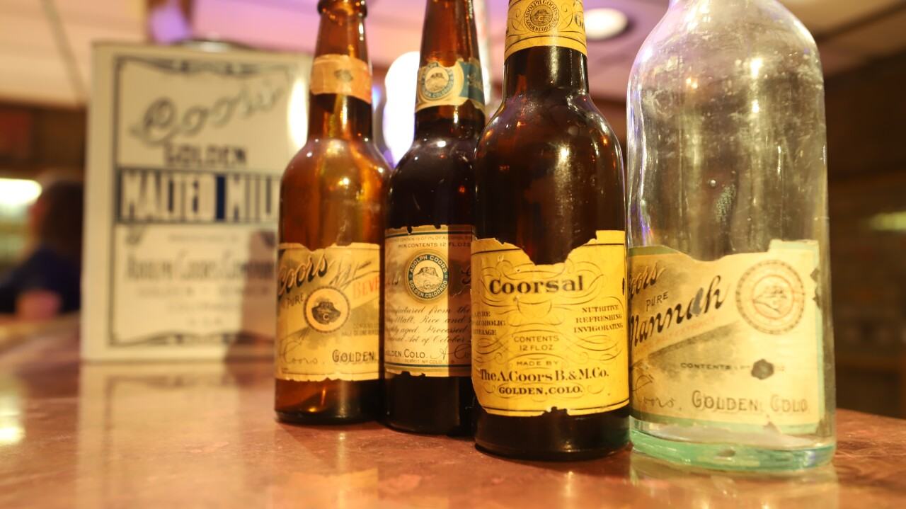 Coors Prohibition products