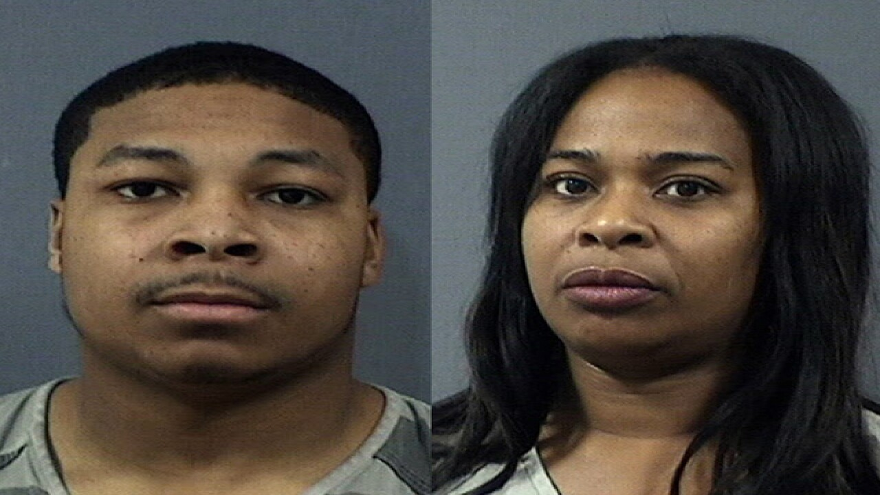 Cops: Mom & son tried to have witnesses murdered