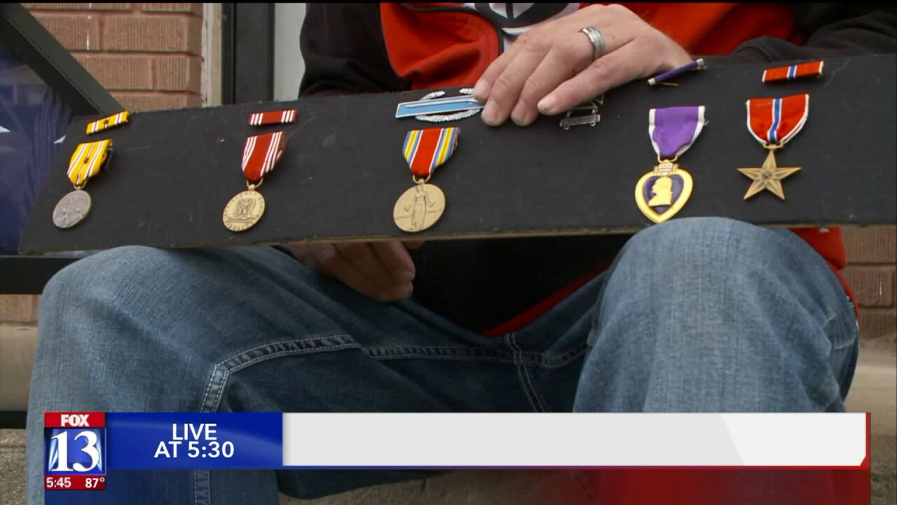 Roy man returns WWII veteran's lost medals to family