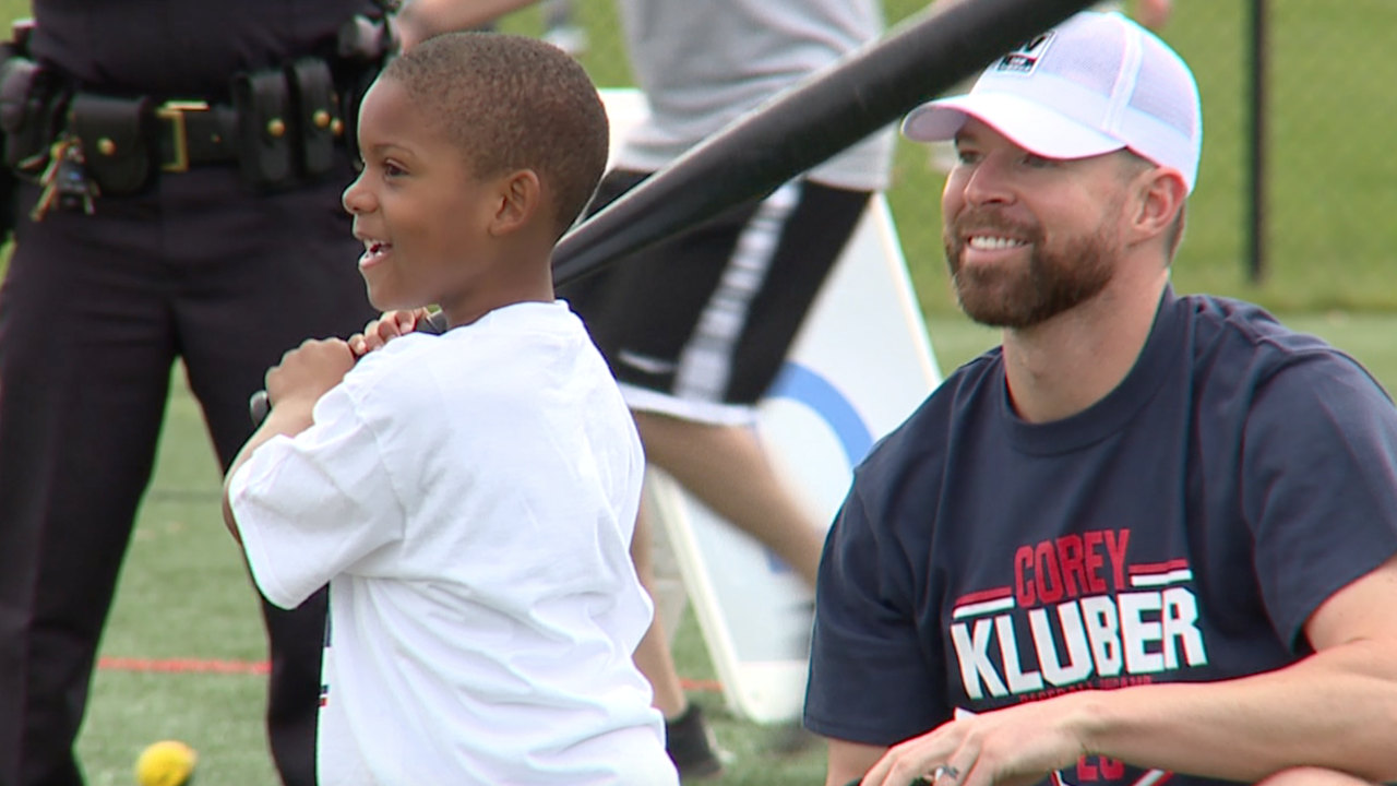Corey Kluber baseball camp