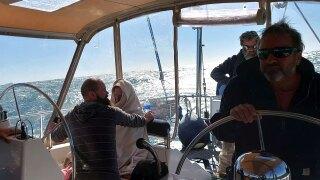 Shrimp boat captain rescued