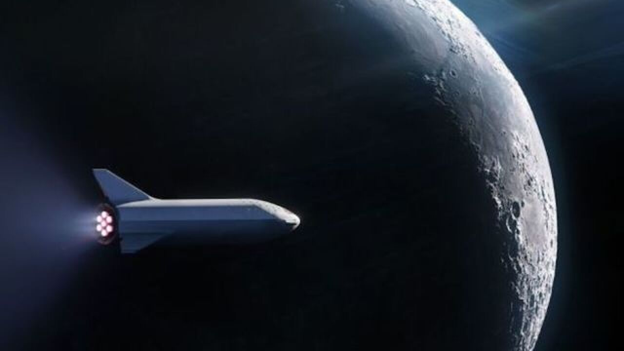 SpaceX to announce next week private tourist who will fly to the moon