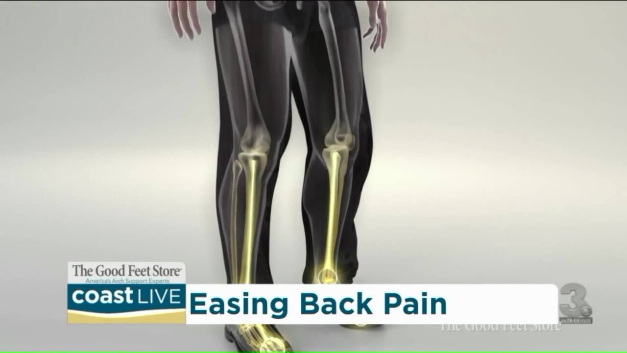 Dealing with pain while working on your feet on CoastLive