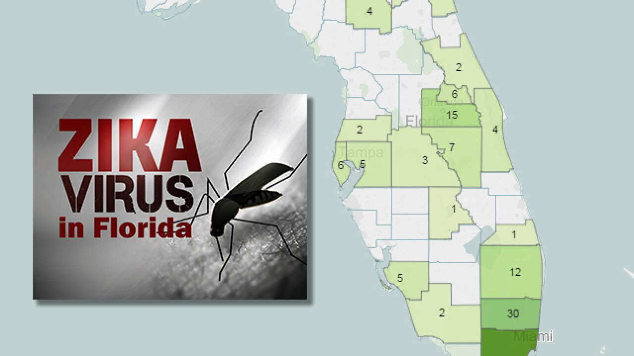 Interactive Map Florida.Zika Tracker Interactive Map Graphic Show Confirmed And Locally