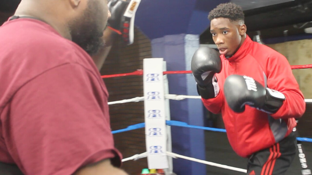 Program gets kids fighting in ring, not streets