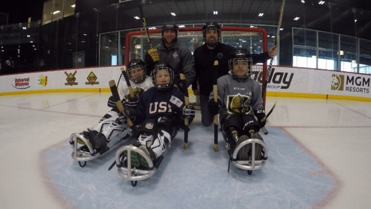 Vegas Golden Knights Help Youth Sled Hockey Program Get Up And Running