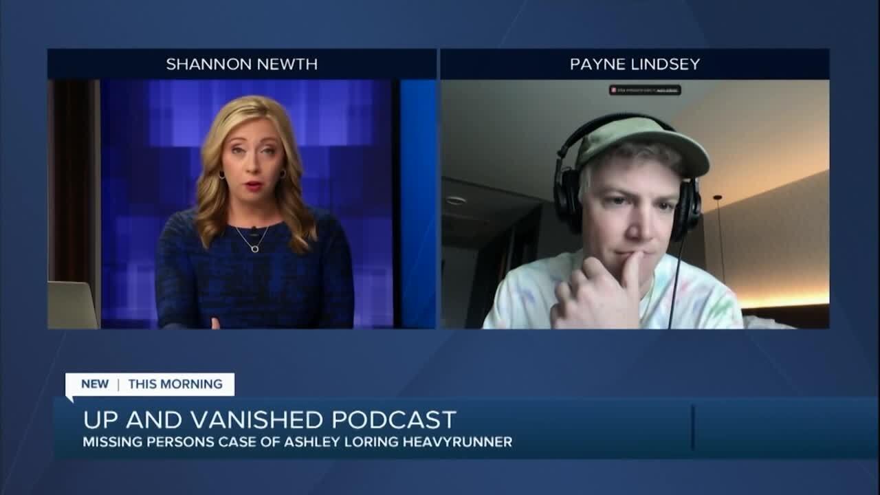 """Up & Vanished"" podcast focuses on Ashley Loring Heavyrunner"