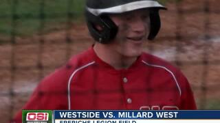Millard West picks up the win at the state legion baseball tournament