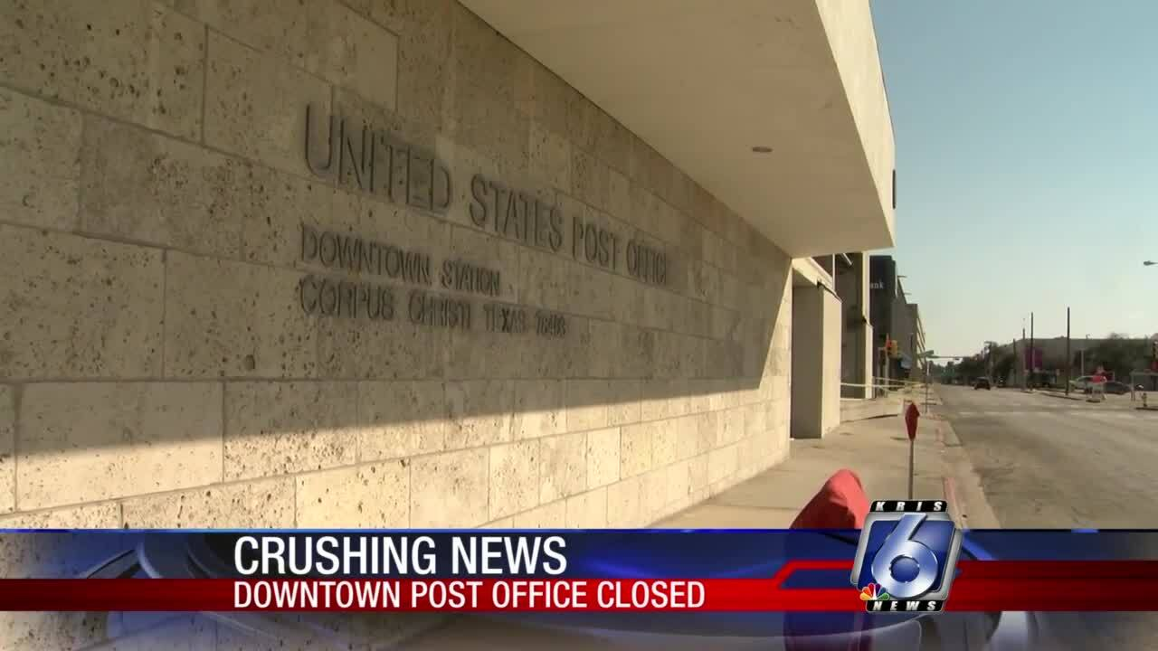 Downtown Station post office reportedly to re-open Thursday