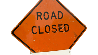 Road closed MIDWAY BOULEVARD AT U-S 41