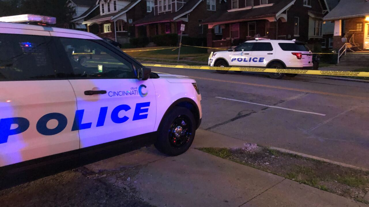 CPD investigate a homicide in the 3300 block of Bassett in East Price Hill