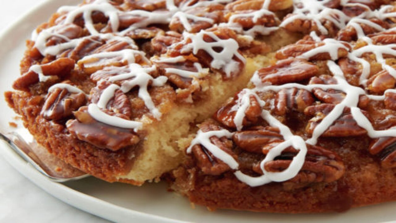 This Pecan Pie Upside-down Cake Puts A Fun Twist On A Classic Recipe