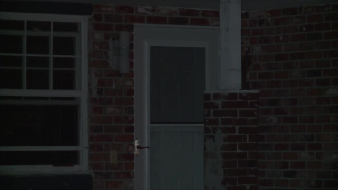 front door of Roberto Colon's home in Boynton Beach