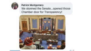 patrick montgomery facebook post Capitol