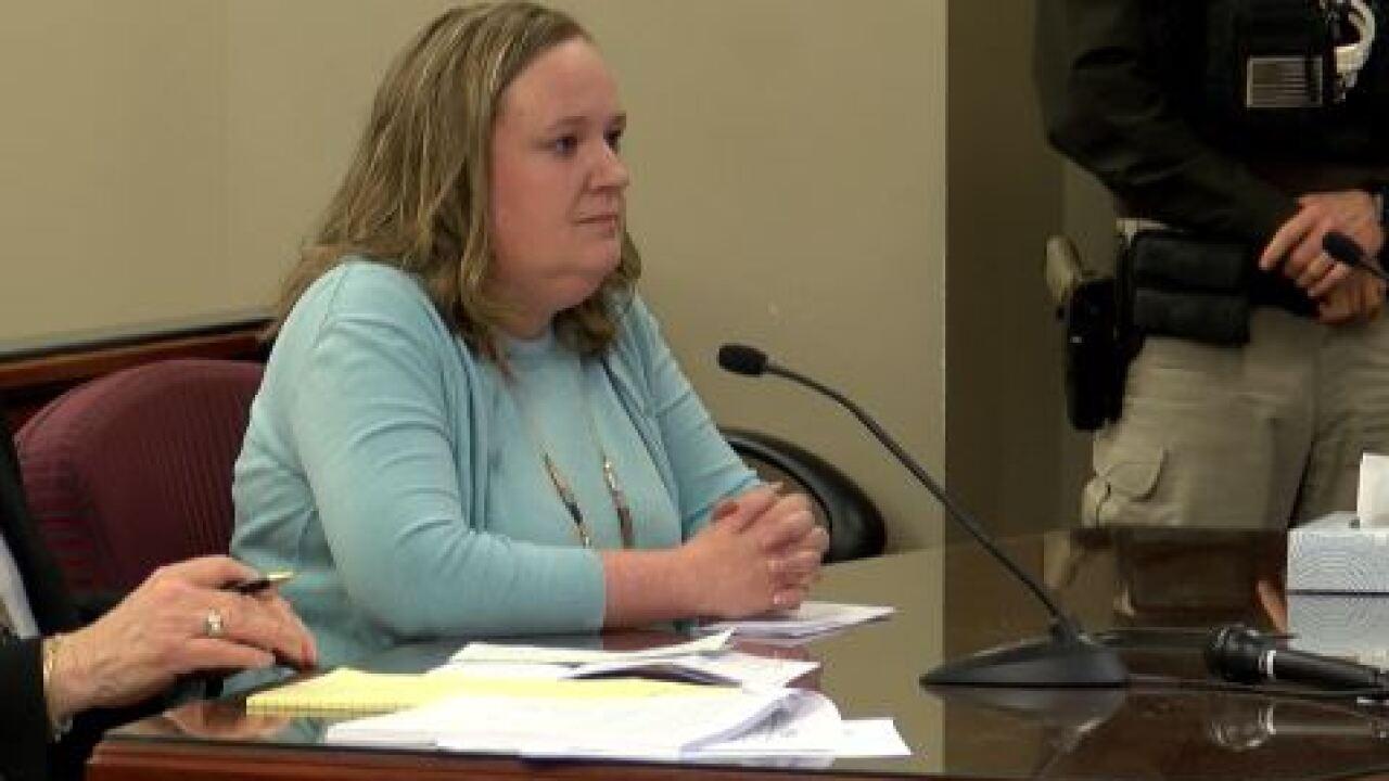 katrina christensen sentencing elkhorn embezzle arts