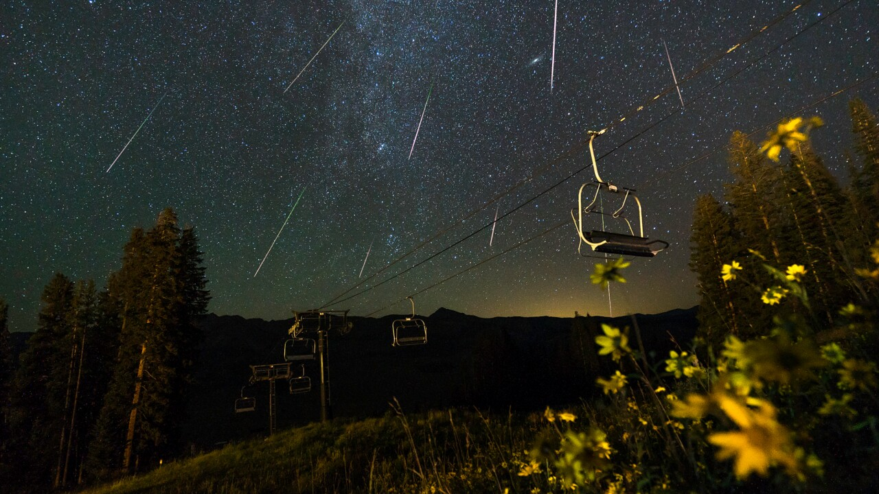 Perseid Meteor Shower at Crested Butte