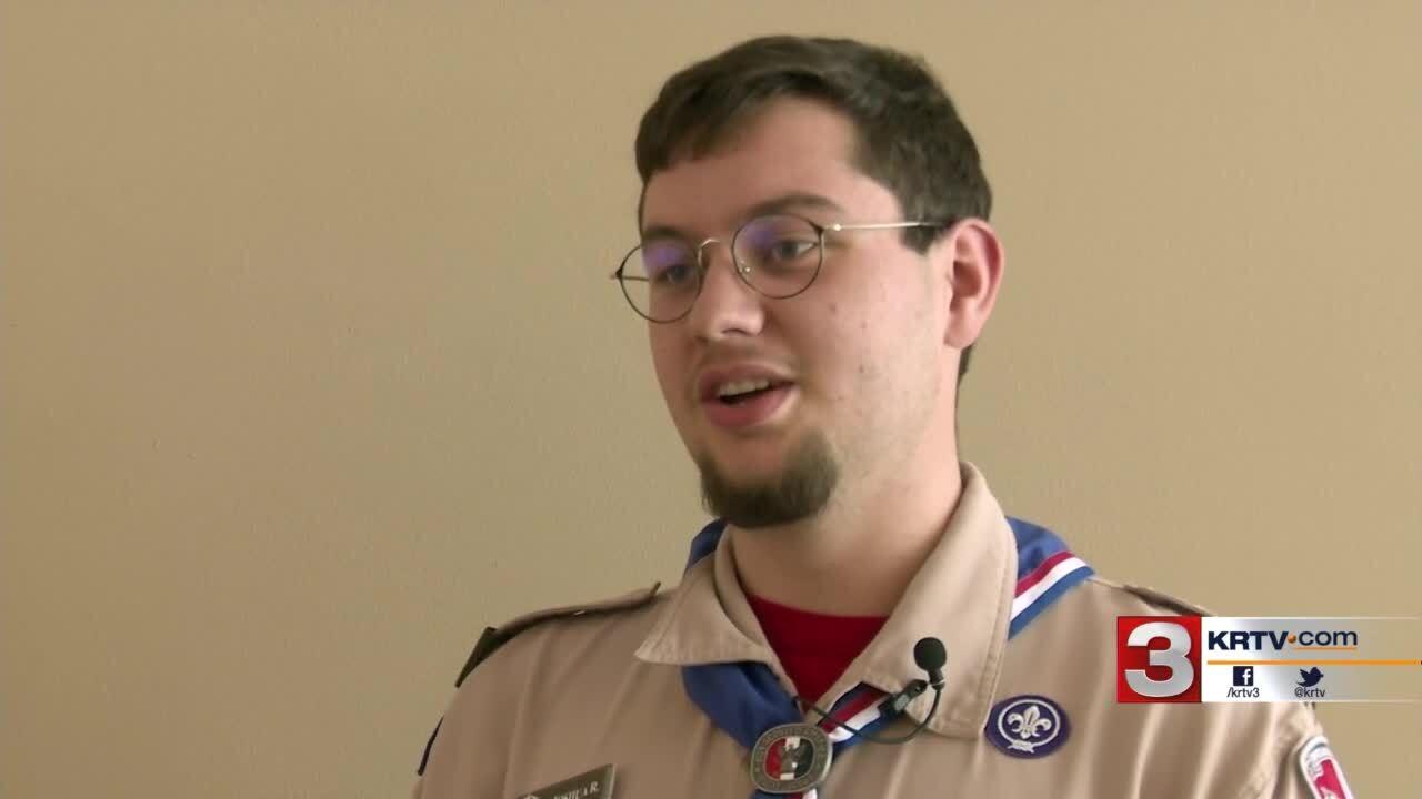 Eagle Scout Joshua Ritchie
