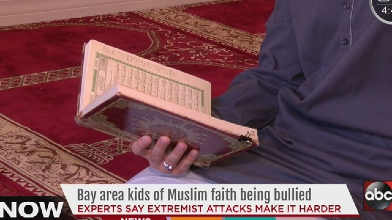 Bay area kids of Muslim faith being bullied