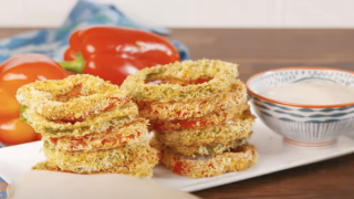 Bell Pepper Oven Fries Are A Healthier Take On Fried Onion Rings