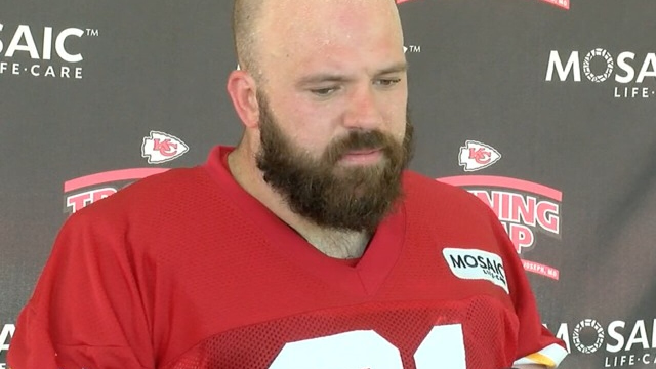Chiefs' Morse ready to get back on the line for 2018 season
