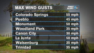 Forecast Wind Speeds