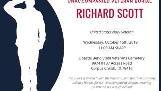 Public invited to unaccompanied veteran burial