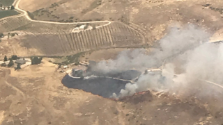 Firefighters respond to fire in San Miguel area