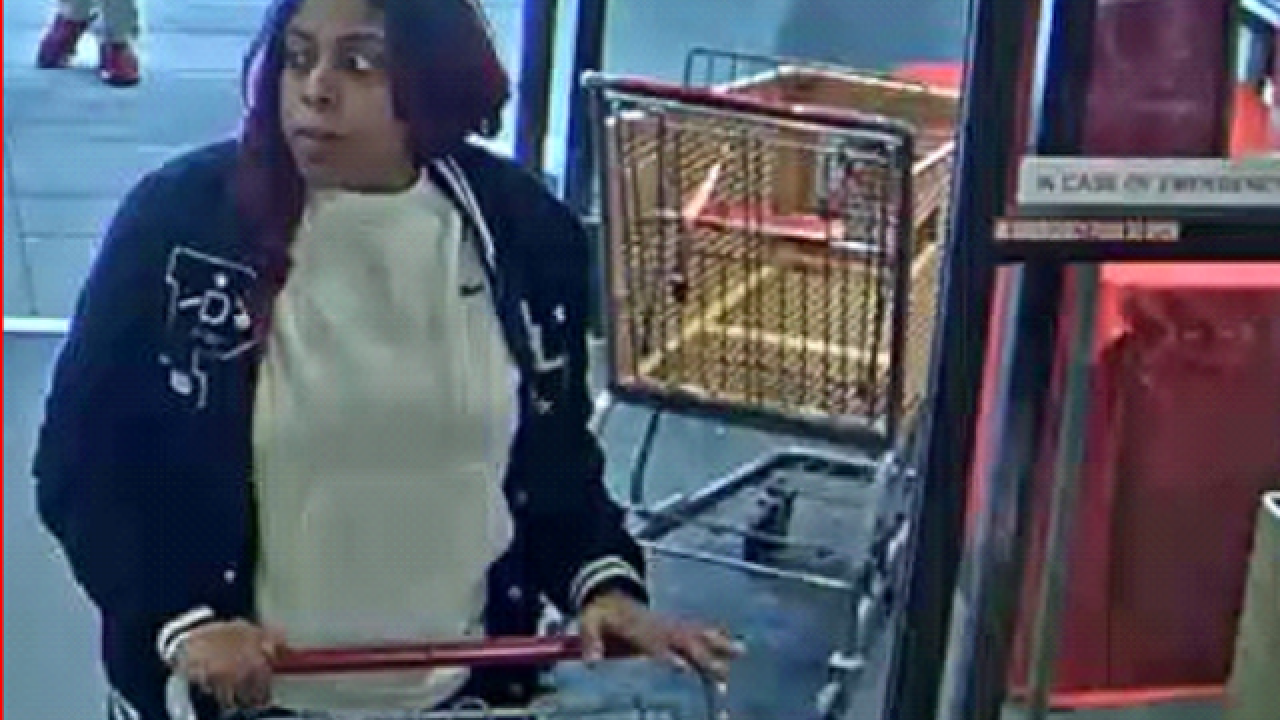 Menomonee Falls police are looking for a suspect in Home Goods theft