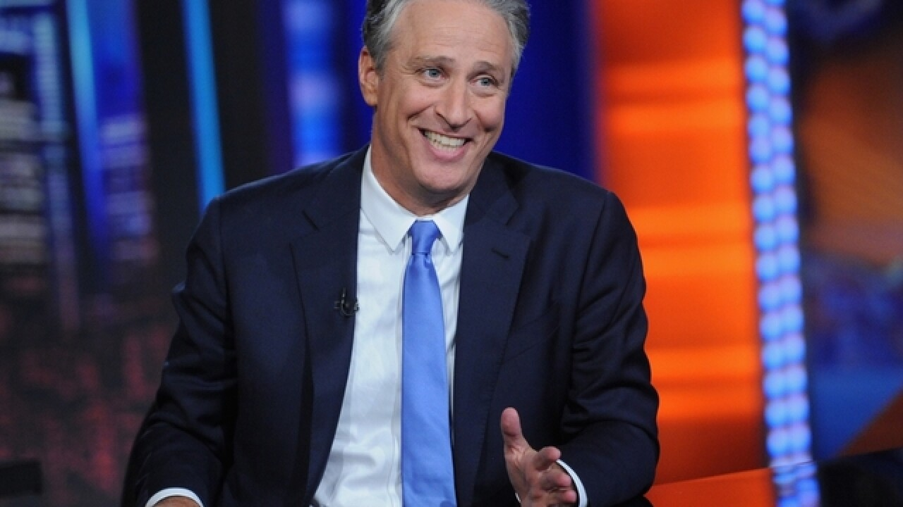 Jon Stewart honors 9/11 first responder