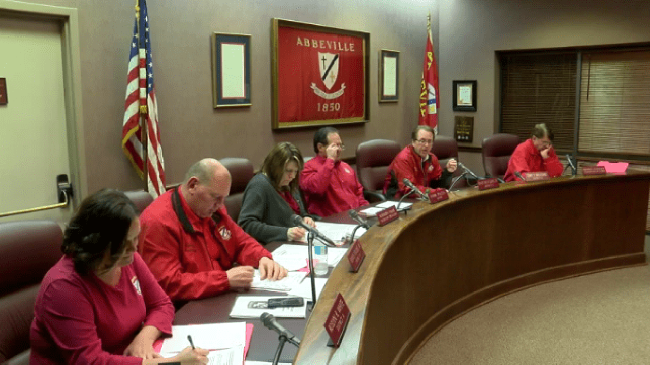 Abbeville City Council