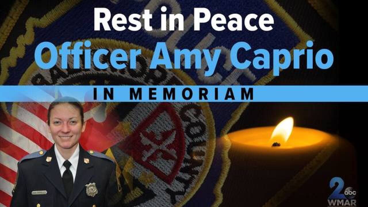 Remembering Officer Amy Caprio