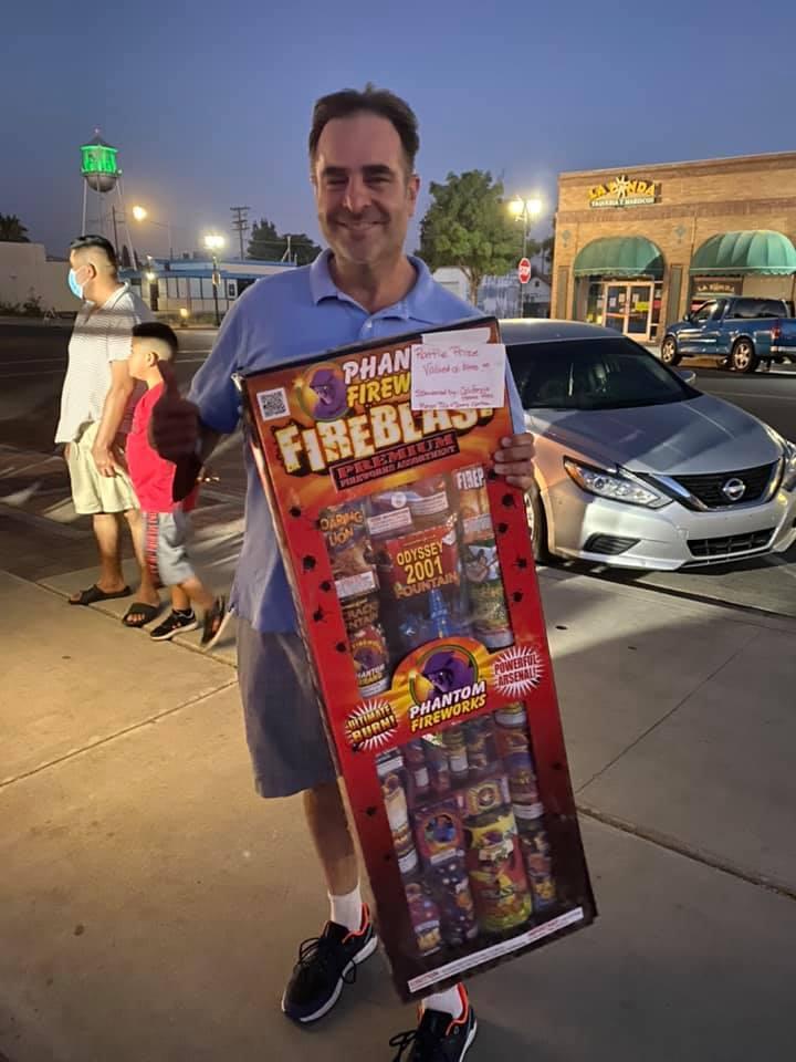 Wasco fireworks celebration 2020