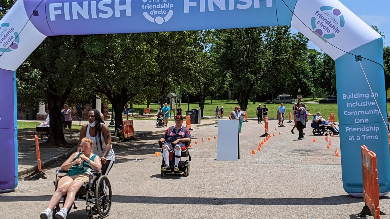 'Walk N' Roll' event provides chance for those of all abilities to come together