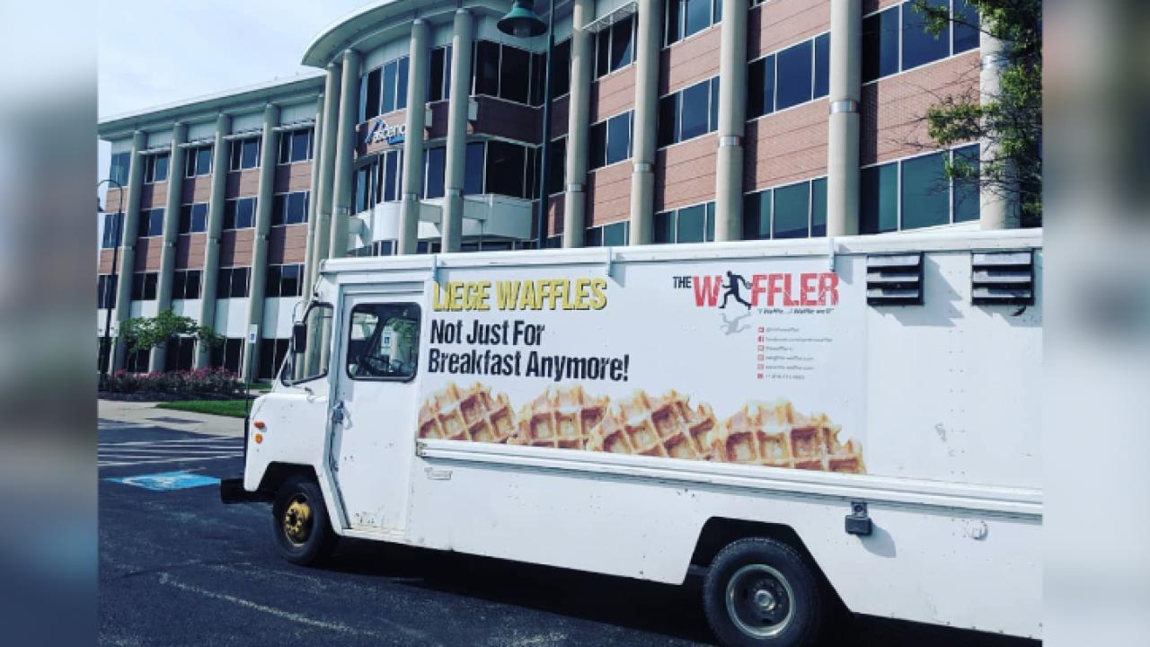 The Waffler food truck