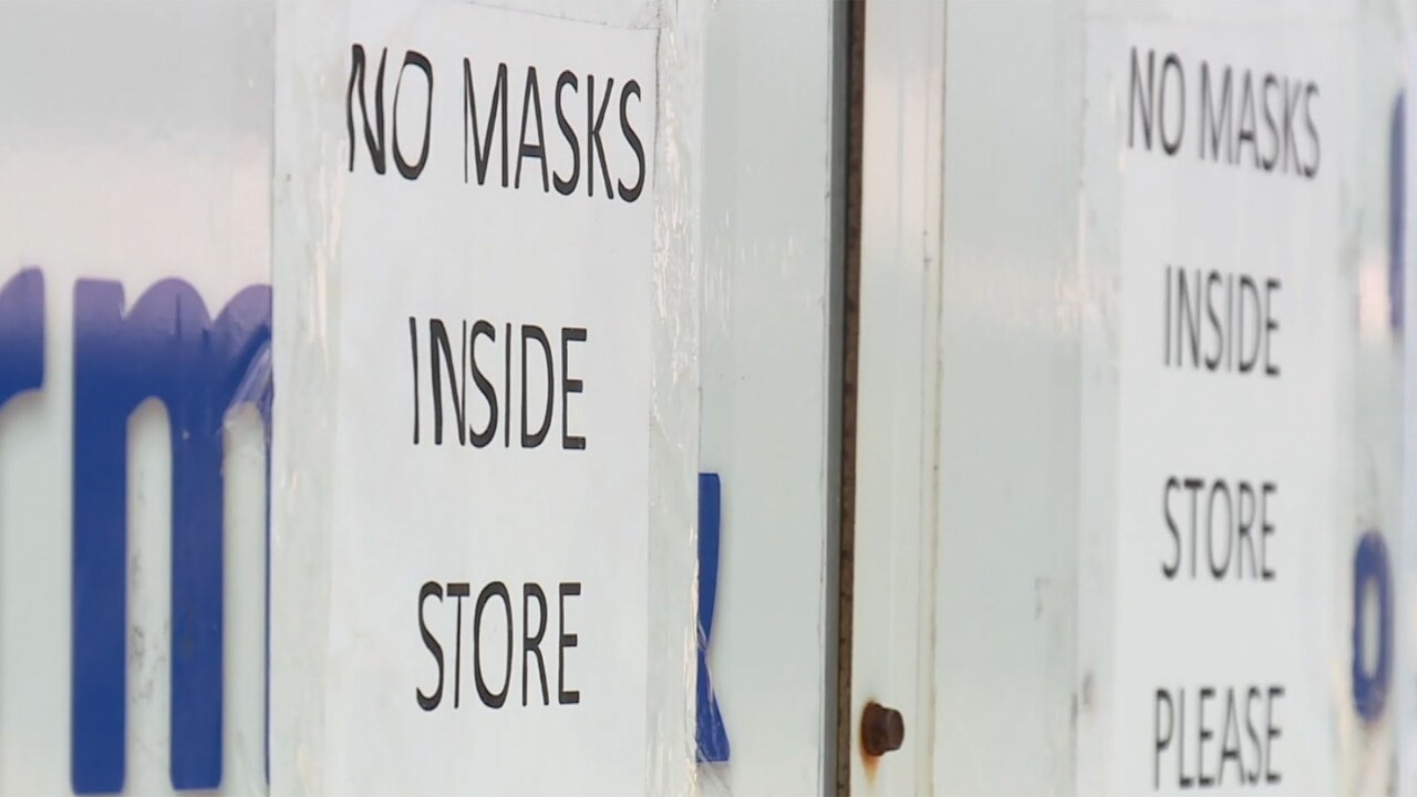 West Palm Beach gun store has 'no mask' policy