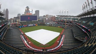 Play ball? Friday looks like a cold, windy, wet mess for Indians home opener