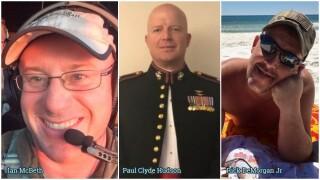 Ian McBeth, Paul Clyde Hudson, Rick DeMorgan Jr