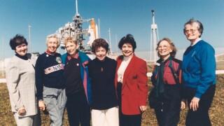 FLATs shuttle launch 1995