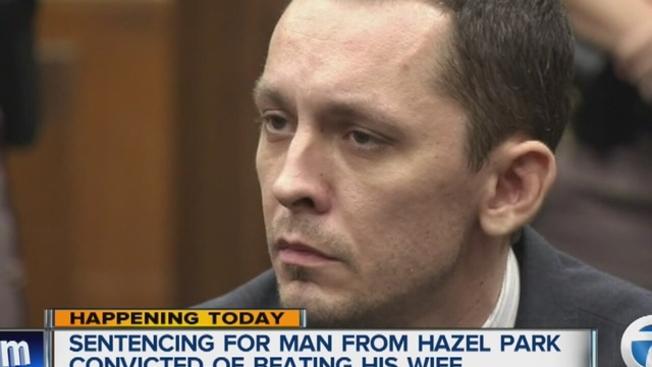 Hazel Park man to be sentenced in wife's attack