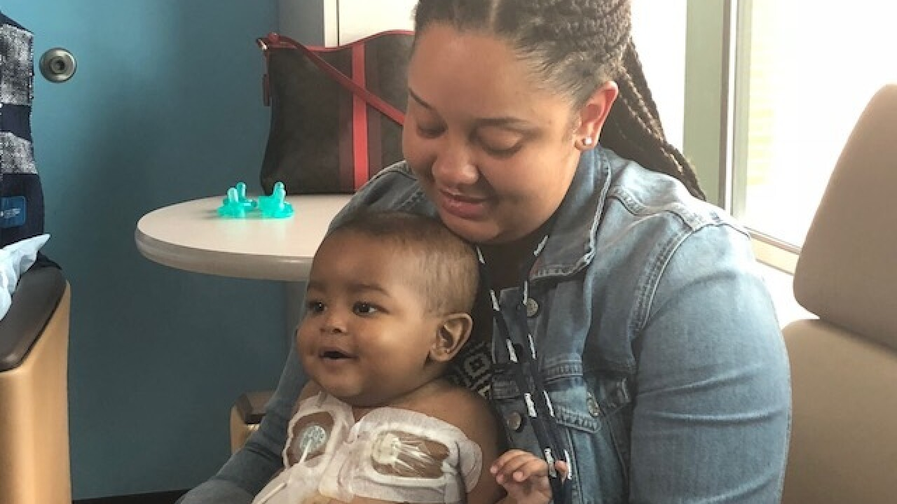 Fairlawn baby with cancer waits for transplant