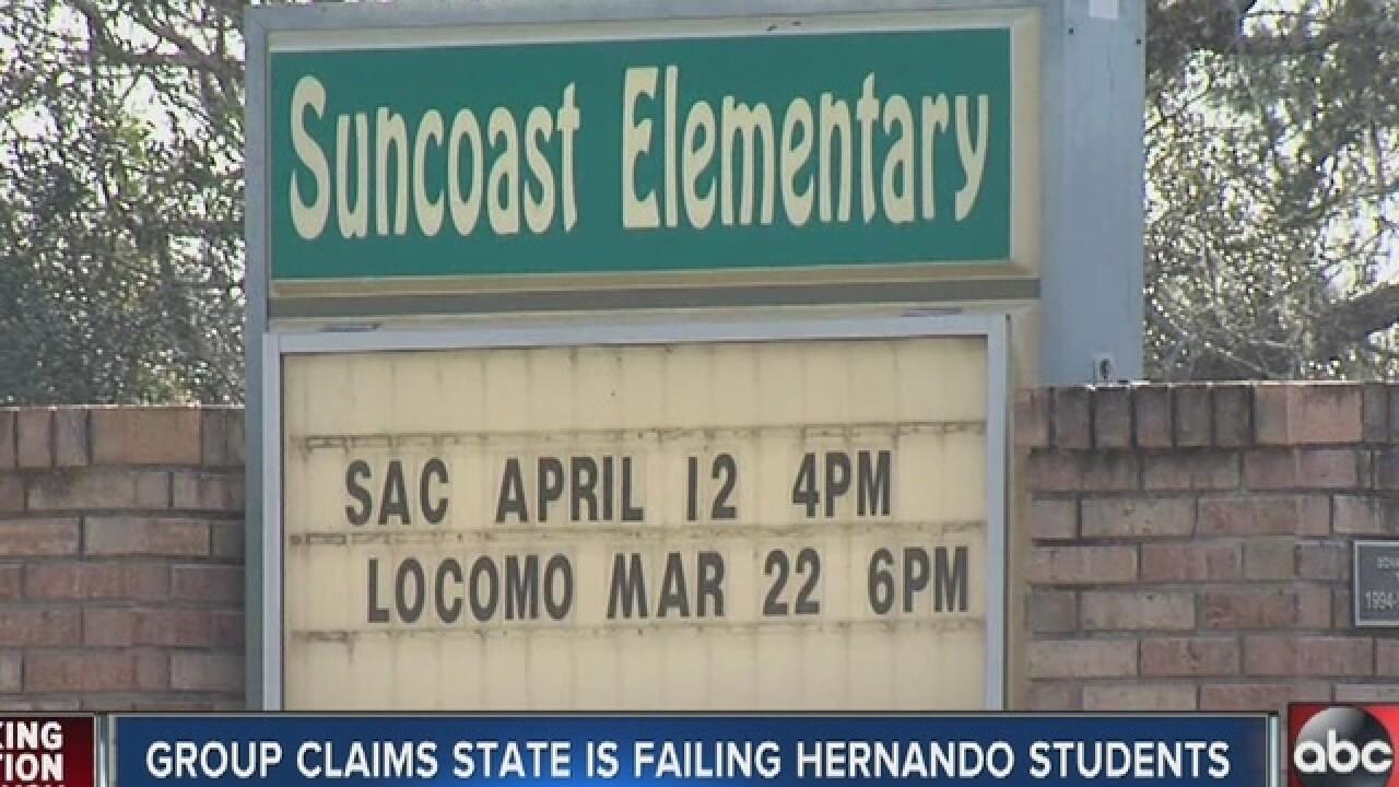 Hernando schools involved in lawsuit challenging