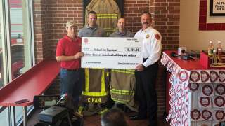 Sub shop donates $18K to Portland Fire Department for 8 new sets of bunker gear